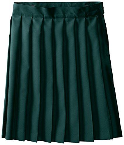 French Toast Little Girls' Pleated Skirt, Hunter, 5