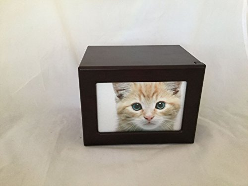 Pet-Urn-Peaceful-Pet-Memorial-Keepsake-UrnPhoto-Box-Pet-Cremation-UrnDog-UrnCat-Urn-Small-Animal-Urn-SizeMedium-ColorCherry-40-cuin