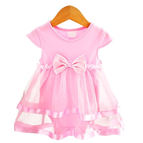 overall Summer Kids Rompers Boy Bodysuits Newborn Jumpers Playsuit Infant Outfits for 4-6 Months Pink Baby Tools for Entertainment ()