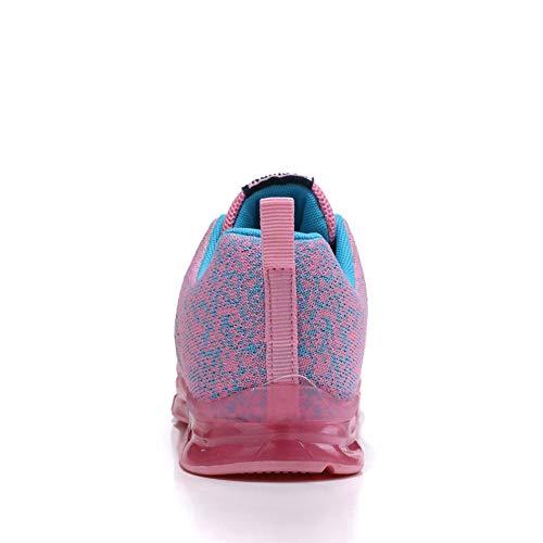 (ファルト) Flarut スニーカー ウォーキングシューズ ランニングシューズ 運動靴 カジュアルシューズ アウトドアシューズ 通気性 エアクッション 軽量 通勤通学 レディース