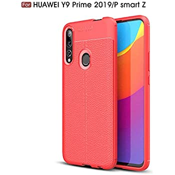 Amazon.com: P Smart Z /Y9 Prime 2019 Case, TPU +PC Iron ...