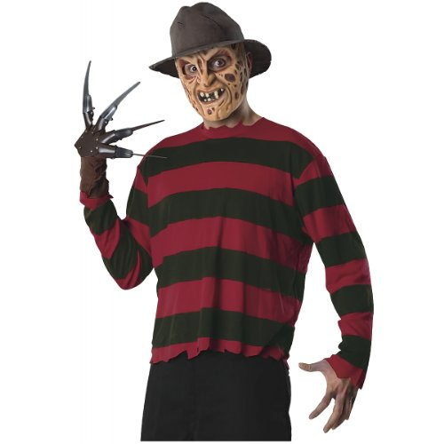 Freddy Krueger Costume Accessory Kit - Standard - Chest Size 44 -