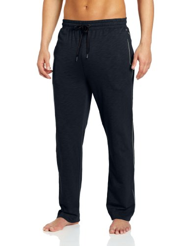 Dockers Men's Slub Terry Drawstring Lounge Pant, Navy, Small