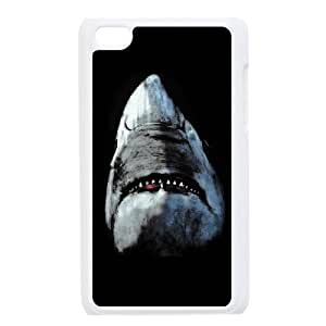 Custom Shark Case Cover , Creative Designed For iPod Touch 4