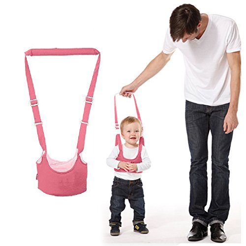 Price comparison product image Walking Harness Walker for Baby Toddler,Safe Stand Hand Held Walking Helper,Walking Belt Learning To Walk Assistant Trainer for Infant Child,Adjustable Seatbelt Harness Childs Walker Learning Toy