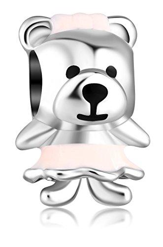 Enamel Teddy Bear - 5