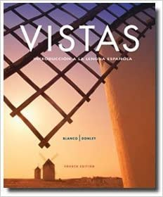 Amazon vistas 4th edition introduccin a la lengua espaola vistas 4th edition introduccin a la lengua espaola student edition with supersite code english and spanish edition bilingual edition fandeluxe Image collections
