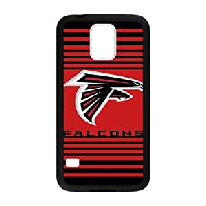 Handsome red background Atlanta Falcons Samsung Galaxy s5 Case Cover Shell (Laser Technology)