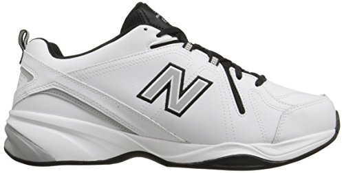 New Balance Mens MX608V4 Training Shoe White/Black/Red