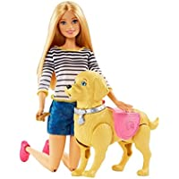 Barbie Walk & Potty Pup, Blonde