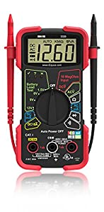 Best Multimeter for Electronics Hobbyist, Home Use and Beginners