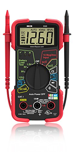 Best Multimeter Under $30 - INNOVA 3320 Multimeter Review