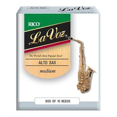 Rico Anches La Voz pour saxophone ténor, force Soft, pack de 10 D' Addario Ltd RKC10SF serika-9500843-12