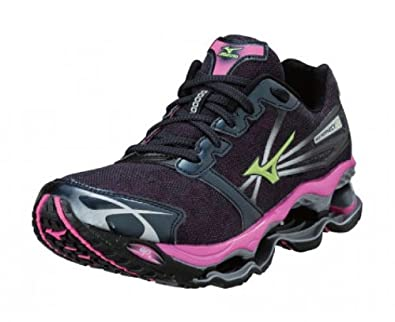 the best attitude e1fc2 91138 MIZUNO Wave Prophecy 2 Ladies Running Shoes, Grey Purple, UK8.5   Amazon.co.uk  Shoes   Bags