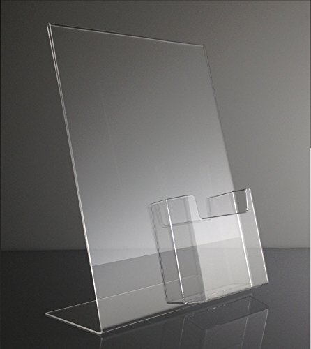T'z Tagz 8.5x11 Acrylic Sign Holder with Tri Fold 4