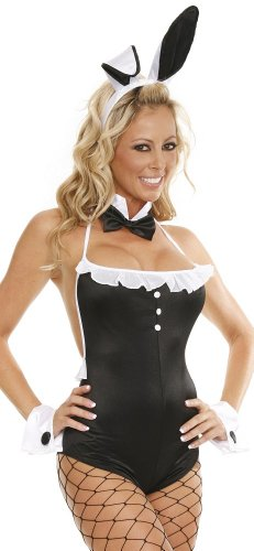 Playboy Bunny Costume Plus Size (Delicate Illusions Womens Plus size Playboy Bunny Costume, 12x)