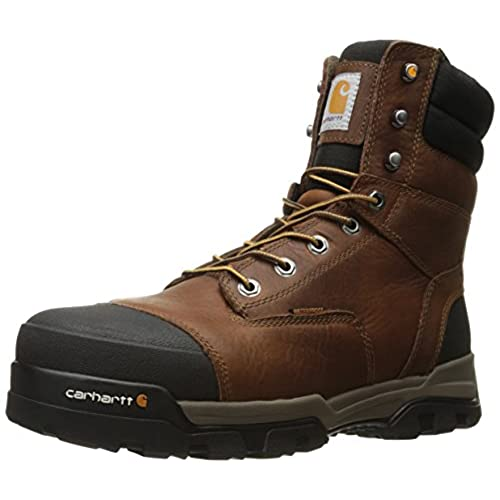 "Carhartt Men's 8"" Energy Waterproof Composite Toe CME8355 Industrial Boot"