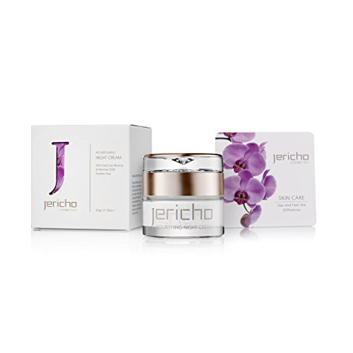 Jericho - Nourishing Night Cream - Keeps your skin soft and smooth, filling in wrinkles from the inside. Restoring softness and elasticity to the skin for a firm complexion - Best Facial Moisturizers