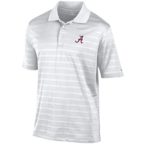 Elite Fan Shop Alabama Crimson Tide Polo White - XL