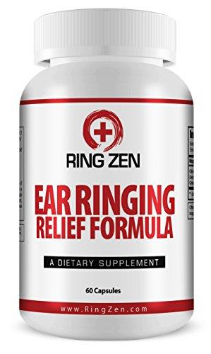 # 1 Évalué RingZen - Acouphènes secours Pour arrêter la sonnerie Oreilles. Le Top classé All traitement naturel acouphènes pour bourdonnements dans les oreilles avec bioflavonoïdes d'agrumes et plus pour Ear maximale Ringing Relief.