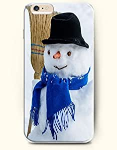 OOFIT Apple iPhone 6 Plus case 5.5 inches - A Snowman Butler by icecream design