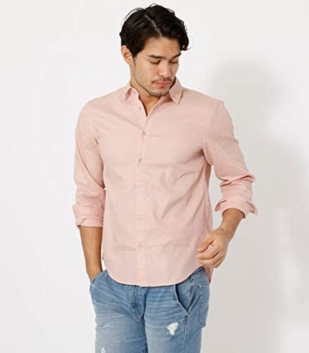 ワイシャツ 【MEN'S】WAFFLE PLAIN SHIRT 251DSM30-238C