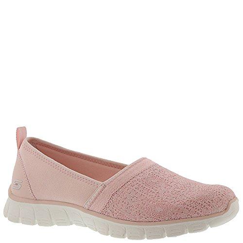 Skechers Damen EZ Flex 3.0-Quick Escapade Slip on Sneaker Pink (Light Pink)