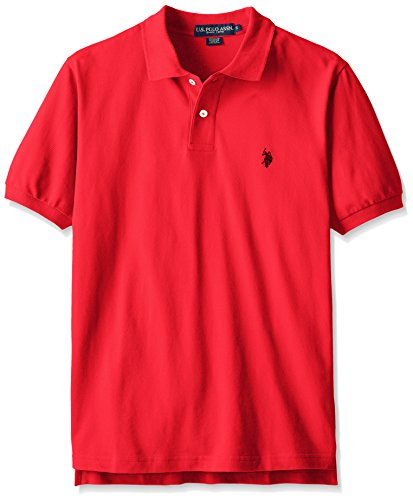 U.S. Polo Assn. Men's Classic Polo Shirt, Engine Red, XL by U.S. Polo Assn.