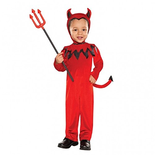 Children's Devil Boy Costume Size Small (4-6)