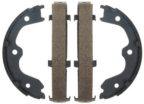 Raybestos 783PG Professional Grade Parking Brake Shoe Set - Drum in Hat