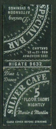 Silver Café 5 Floor Shows Oakland CA