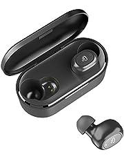 Dudios Bluetooth 5.0 Wireless Earbuds,True Wireless Headphone HiFi Stereo Sound Mini in-Ear Sweatproof Headset (One-Button Control, Binaural Call, 4 hrs Music Time, Auto Pairing)
