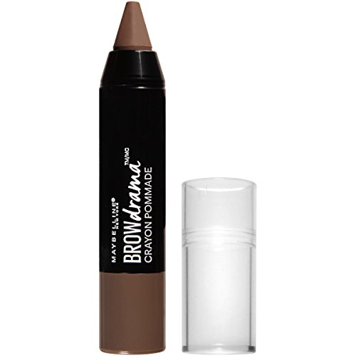 Maybelline New York Eyestudio Brow Drama Pomade Crayon Eye Color, Soft Brown, 0.04 Fluid Ounce