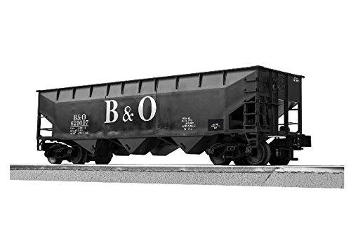Lionel LNL316060 O-27 3-Bay Offset Hopper, B&O (6) -  LIONEL TRAINS, LIO316060