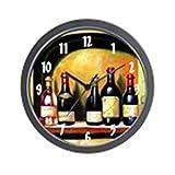 CafePress – Wine Bottles Wall Clock – Unique Decorative 10″ Wall Clock