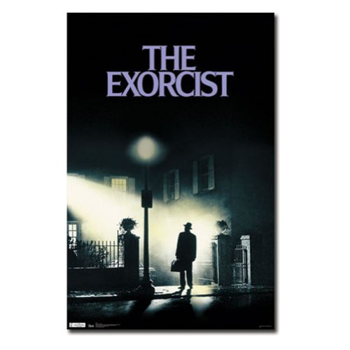 Movie Posters Scary (The Exorcist (1973) Movie Poster)