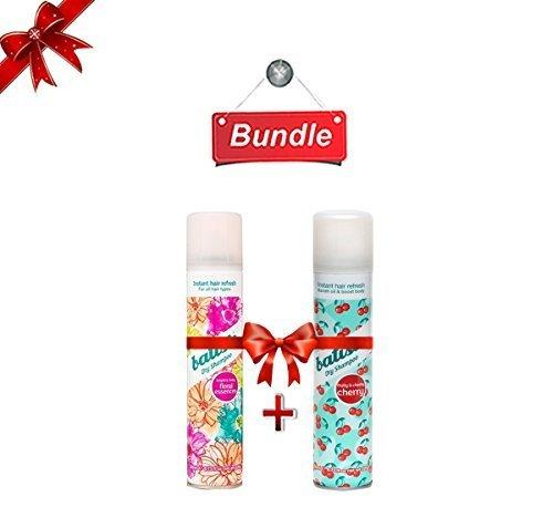 Batiste Floral Essence 6.73oz & Cherry Dry Shampoo 6.73oz by