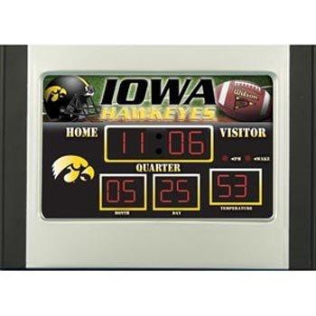 "UPC 878575003715, Iowa Hawkeyes NCAA Scoreboard Desk Clock (6.5""x9"")"