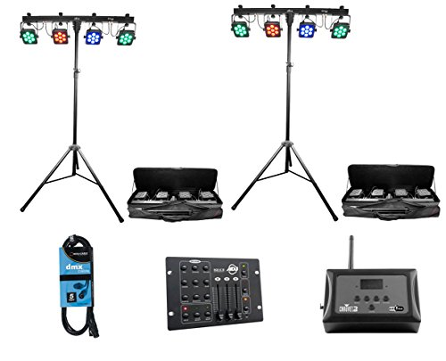 Chauvet 4Bar Led Wash Light System - 7
