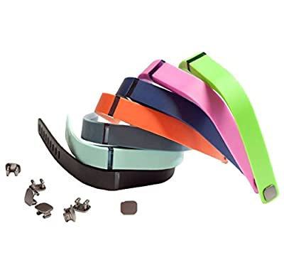 HAPPYCOCO 3 PCS Set Style Replacement Band with Clasp for Fitbit Flex , Band only no tracker included