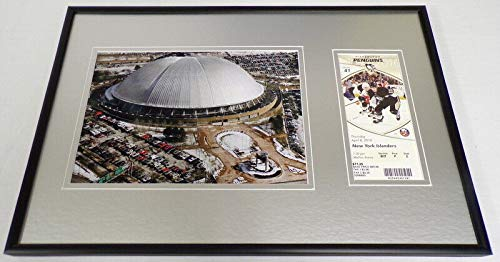 (Pittsburgh Penguins Last Game Mellon Arena Framed ORIGINAL Ticket & Photo Set)