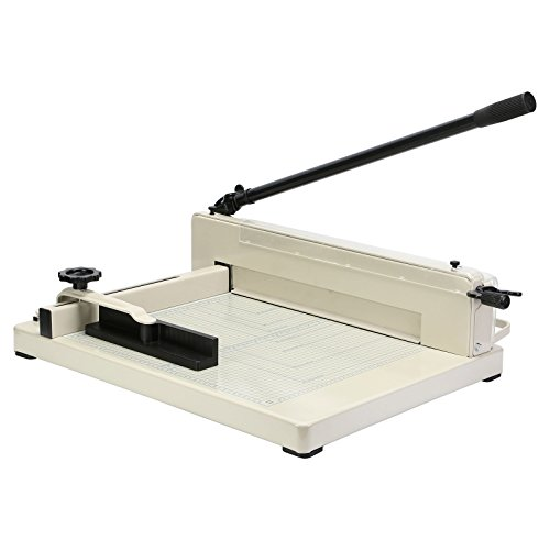 Guillotine Machine (OrangeA Paper Cutter Guillotine Paper Cutter Trimmer Machine 17 Inch Heavy Duty Paper Cutting Tool (17 Inch A3 Patter Cutter))