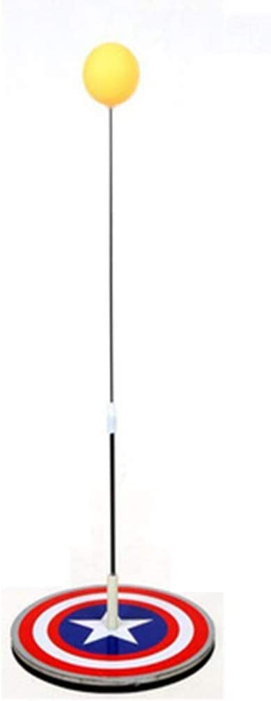 BBGSFDC Herramienta Tenis de Mesa Trainer Auto-Práctica for el niño Ping-Pong Pista de Paddle Conjunto de Entrenamiento de Altura Ajustable con Paleta de Ping Pong