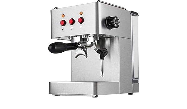ZLSANVD Cafetera de Filtro Tamaño Operación Café Personal Brewer Máquina Tanque de Agua Brewing Quick One Touch Compact for la Seguridad del pequeño Vapor Espresso máquina de café de la Vaina: Amazon.es: