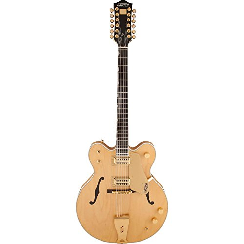 Gretsch Guitars G6122-12 Chet Atkins Country Gentleman 12-String Semi-Hollow Electric Guitar Amber Stain