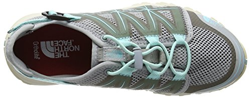 The North Face Litewave, Zapatillas de Senderismo para Mujer Varios colores (Grey / Breeze Blue)