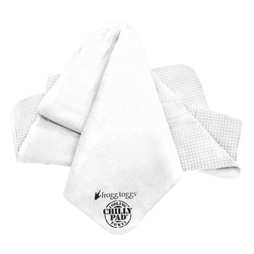 Frogg Toggs Chilly Pad Cooling Towel, Ice White, Size 33'' x 13'' by Frogg Toggs
