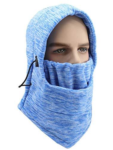 Motorcycle Face Mask Thermal Fleece Motorcycle Ski Snowmobile Cycling Full Under Helmet Hood Hat 4