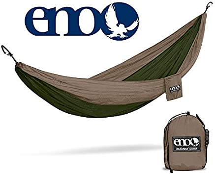 Eagles Nest Outfitters DoubleNest Lightweight Camping Hammock 1 to 2 Person ENO