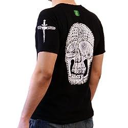 Rhinestone Skull T-Shirt